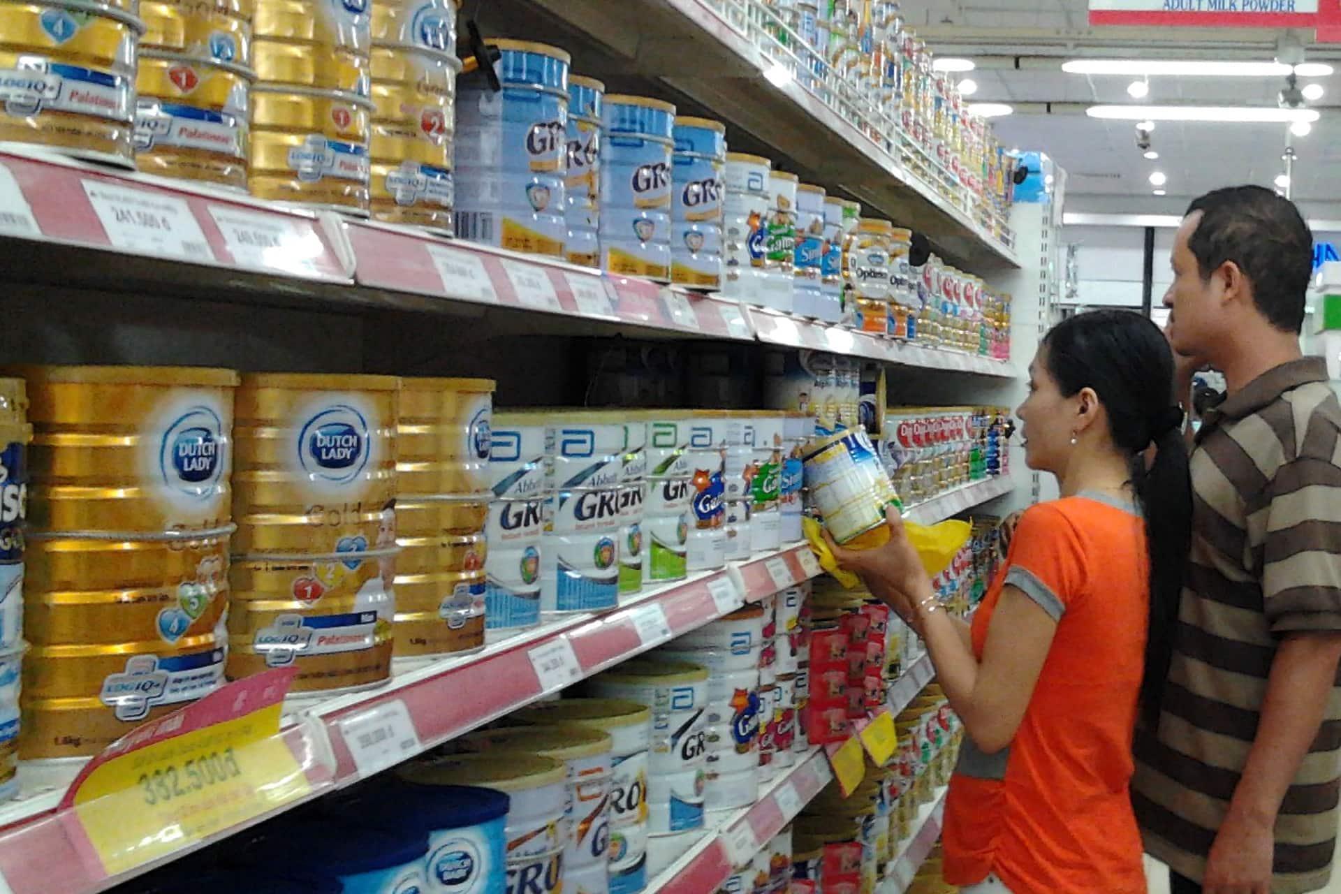 Kinh nghiệm kinh doanh cửa hàng sữa