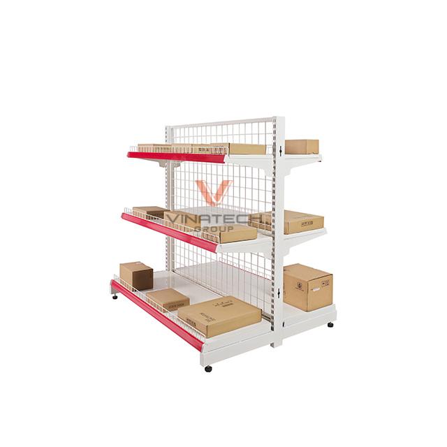 Kệ siêu thị đôi lưới 120x120cm-4