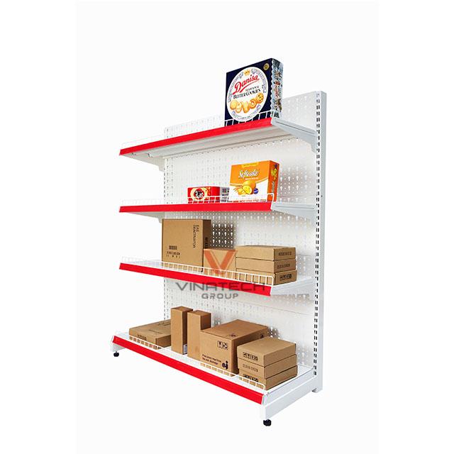 Kệ siêu thị đơn tôn đục lỗ 120x150cm-4