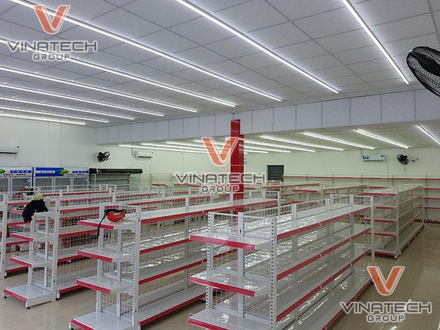 Hình ảnh kệ siêu thị đôi lưới kích thước 120x150cm ngoài đời thực