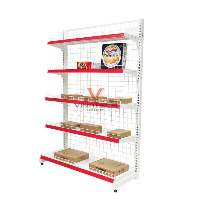 Bản thiết kế kệ siêu thị đơn lưới 90x180cm