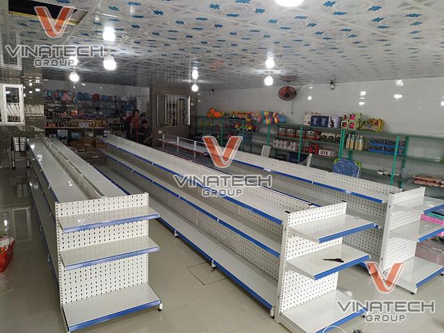 siêu thị sử dụng giá kệ của vinatech