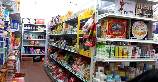 mặt bằng kinh doanh siêu thị