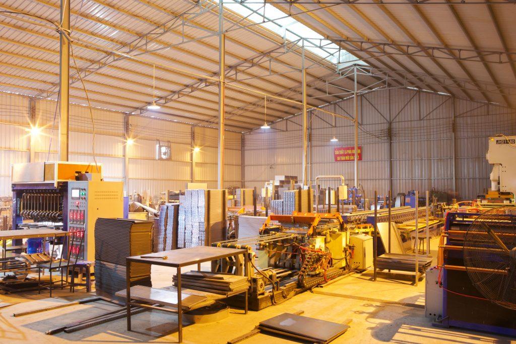 xưởng sản xuất của Vinatech