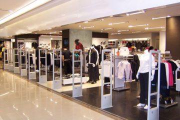 Cổng từ an ninh chống trộm cho shop thời trang
