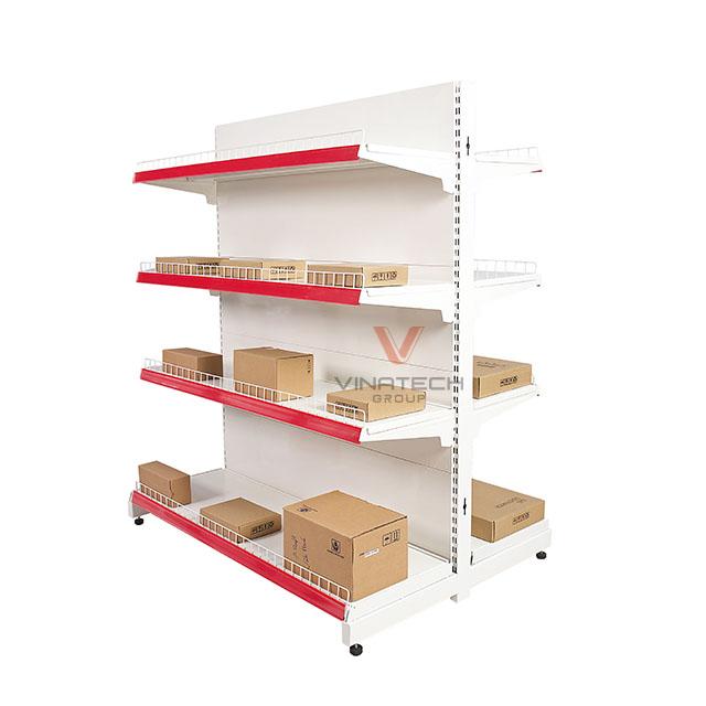 Kệ siêu thị đôi tôn liền 120x150cm-3