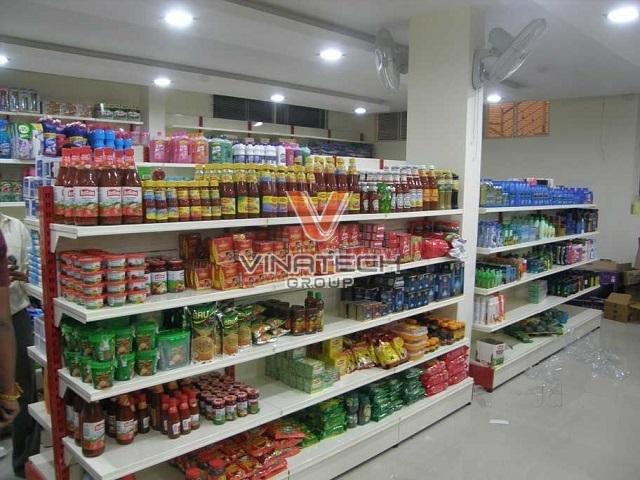 kệ siêu thị tôn liền giá tốt
