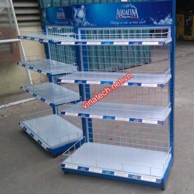 Kệ quảng cáo Aquafina Pepsico