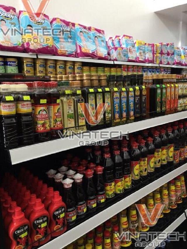 cách sắp xếp hàng hóa trong siêu thị