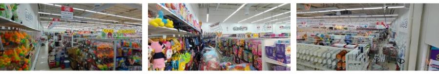 cách trưng bày hàng hóa trong siêu thị big c