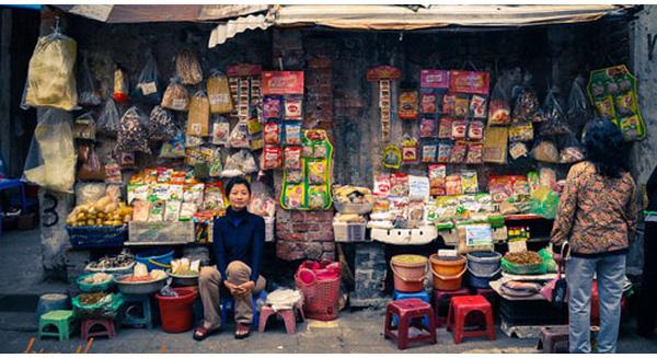 bán hàng tạp hóa tại nông thôn