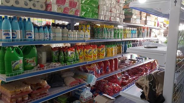 kệ siêu thị bằng thép