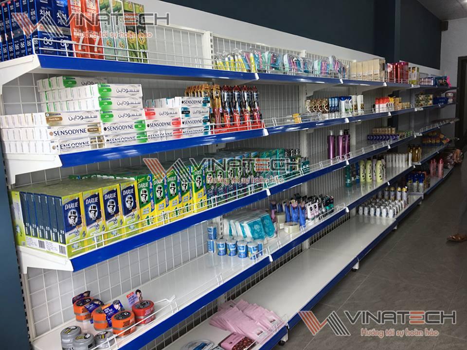 kích thước giá kệ siêu thị đơn phù hợp