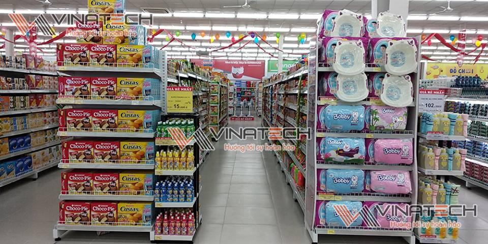 kệ siêu thị mini bắc ninh