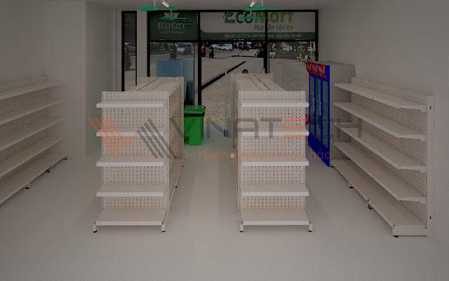 setup cửa hàng tiện ích