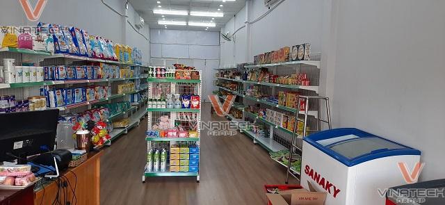 cách trưng bày cửa hàng tạp hóa nhỏ
