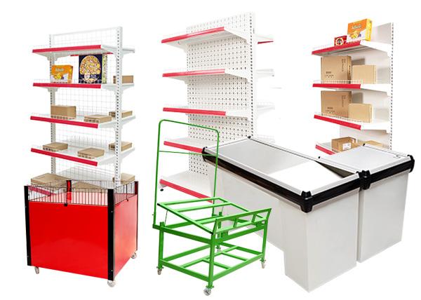 các sản phẩm giá kệ siêu thị của Vinatech sản xuất