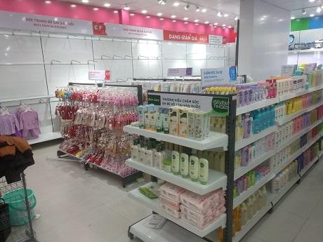 lắp đặt kệ siêu thị tại Hải Dương