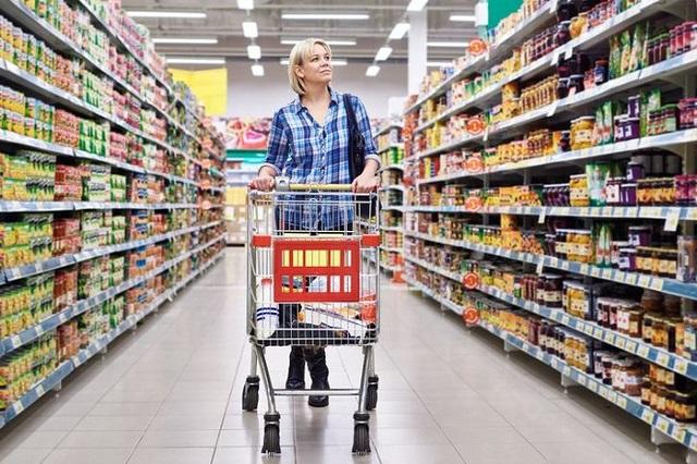 Xe đẩy siêu thị giúp cho việc mua sắm trở nên đơn giản và tiện lợi hơn