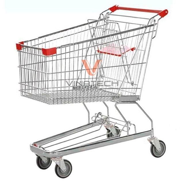 xe đẩy hàng siêu thị 120l