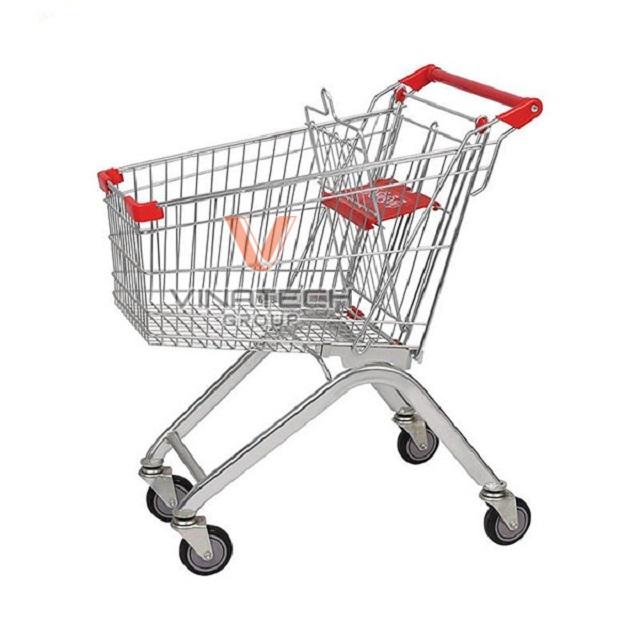 xe đẩy hàng siêu thị 60l