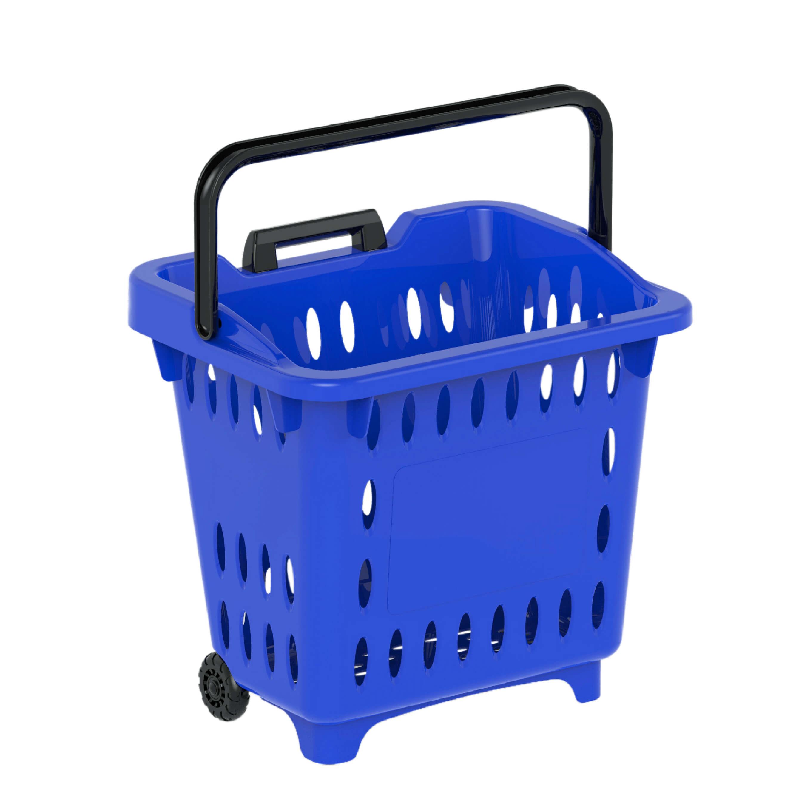 giỏ kéo siêu thị