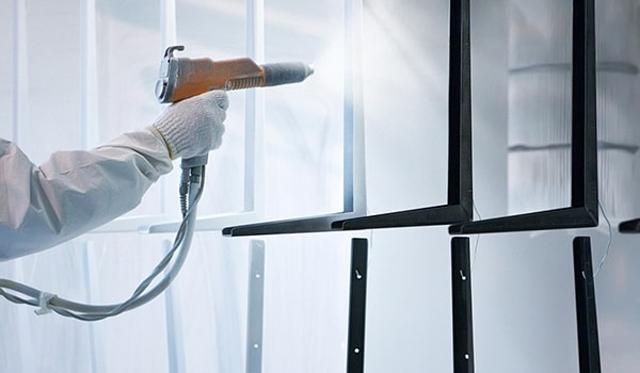 dịch vụ sơn tĩnh điện tại hà nội