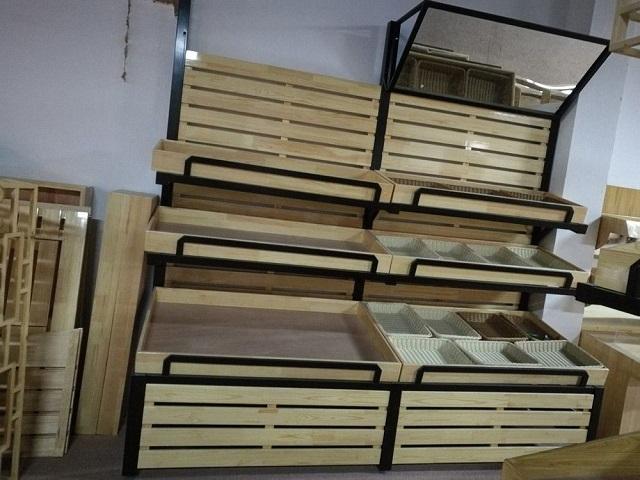 kệ gỗ áp tường