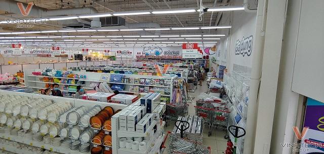 giá kệ siêu thị big c an lạc