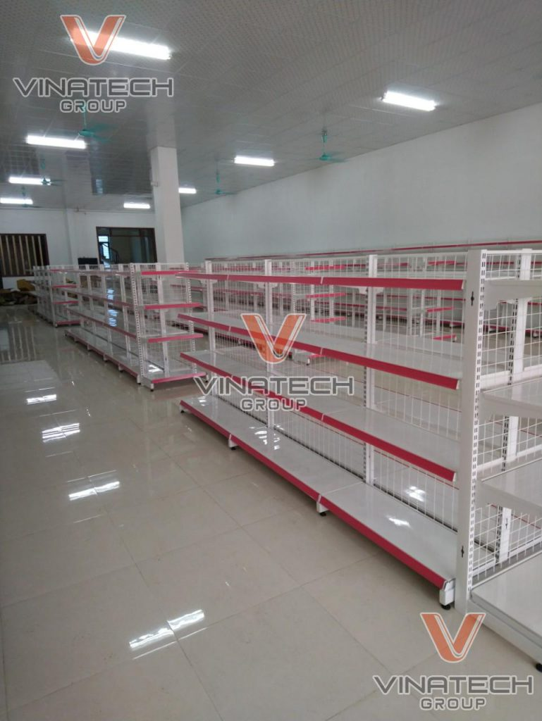 lắp đặt kệ siêu thị tại Nga Sơn- Thanh Hóa