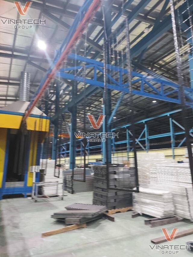 nhà máy sản xuất giá kệ Vinatech