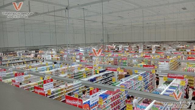 giá kệ siêu thị vinatech